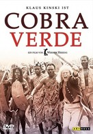 Cobra Verde - German DVD cover (xs thumbnail)