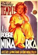 Poor Little Rich Girl - Spanish Movie Poster (xs thumbnail)
