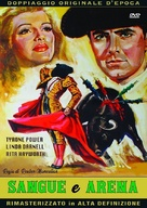 Blood and Sand - Italian DVD movie cover (xs thumbnail)