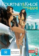 """""""Kourtney & Khloe Take Miami"""" - Australian DVD movie cover (xs thumbnail)"""
