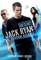Jack Ryan: Shadow Recruit - DVD cover (xs thumbnail)
