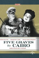 Five Graves to Cairo - DVD cover (xs thumbnail)