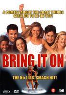 Bring It On - Dutch DVD movie cover (xs thumbnail)