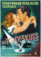Kiss of Death - German Movie Poster (xs thumbnail)