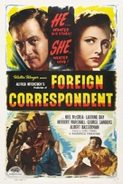 Foreign Correspondent - Re-release poster (xs thumbnail)