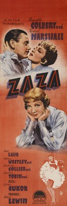 Zaza - Czech Movie Poster (xs thumbnail)