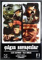 Kelly's Heroes - Turkish Movie Poster (xs thumbnail)