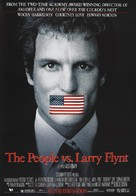 The People Vs Larry Flynt - Advance movie poster (xs thumbnail)
