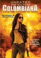 Colombiana - DVD movie cover (xs thumbnail)