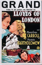 Lloyd's of London - Dutch Movie Poster (xs thumbnail)