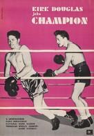 Champion - Polish Movie Poster (xs thumbnail)