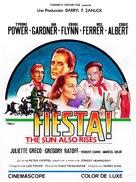 The Sun Also Rises - Spanish Movie Poster (xs thumbnail)