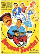 Bonjour sourire! - French Movie Poster (xs thumbnail)