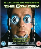 The 6th Day - British Blu-Ray movie cover (xs thumbnail)