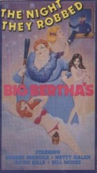 The Night They Robbed Big Bertha's - VHS movie cover (xs thumbnail)