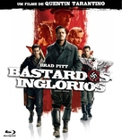Inglourious Basterds - Brazilian Blu-Ray cover (xs thumbnail)