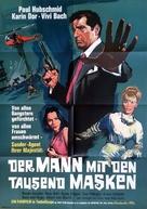 Upperseven, l'uomo da uccidere - German Movie Poster (xs thumbnail)