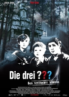 The Three Investigators and the Secret of Terror Castle - German Movie Poster (xs thumbnail)