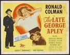 The Late George Apley - British Movie Poster (xs thumbnail)