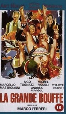 La grande bouffe - French VHS movie cover (xs thumbnail)