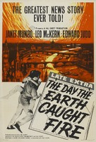 The Day the Earth Caught Fire - British Theatrical movie poster (xs thumbnail)