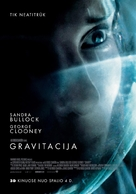 Gravity - Lithuanian Movie Poster (xs thumbnail)