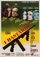 I bastardi - Italian Movie Poster (xs thumbnail)