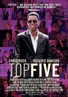 Top Five - German Movie Poster (xs thumbnail)