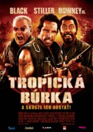 Tropic Thunder - Slovak Movie Poster (xs thumbnail)