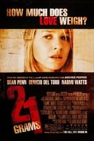 21 Grams - Movie Poster (xs thumbnail)