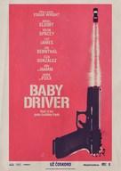Baby Driver - Slovak Movie Poster (xs thumbnail)