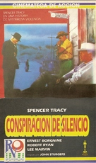 Bad Day at Black Rock - Argentinian VHS movie cover (xs thumbnail)