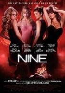 Nine - German Movie Poster (xs thumbnail)