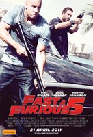 Fast Five - Australian Movie Poster (xs thumbnail)
