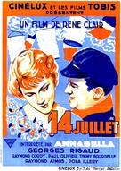 Quatorze Juillet - French Movie Poster (xs thumbnail)