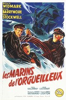 Down to the Sea in Ships - French Movie Poster (xs thumbnail)