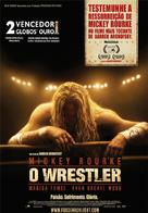 The Wrestler - Portuguese Movie Poster (xs thumbnail)