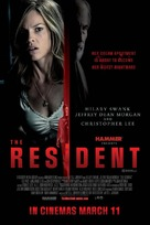 The Resident - British Movie Poster (xs thumbnail)