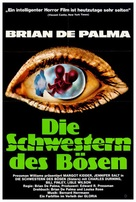 Sisters - German Movie Poster (xs thumbnail)