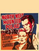 North West Mounted Police - Movie Poster (xs thumbnail)