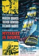 Mutiny on the Bounty - Swedish Movie Poster (xs thumbnail)