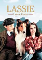 Lassie Come Home - DVD cover (xs thumbnail)