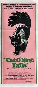 Il gatto a nove code - Australian Movie Poster (xs thumbnail)