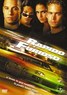 The Fast and the Furious - Argentinian DVD cover (xs thumbnail)