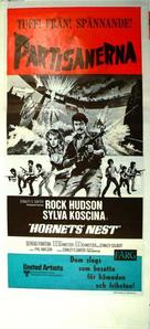Hornets' Nest - Swedish Movie Poster (xs thumbnail)