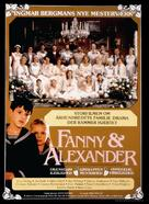 Fanny och Alexander - Danish Movie Poster (xs thumbnail)