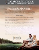 The Blind Side - Mexican Movie Poster (xs thumbnail)