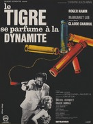 Le Tigre se parfume à la dynamite - French Movie Poster (xs thumbnail)