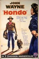 Hondo - Argentinian Movie Poster (xs thumbnail)