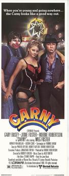 Carny - Theatrical poster (xs thumbnail)